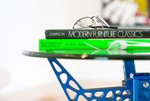 """GiraTable / craft-modern's take on """"new industrial"""" design: customizable, anodized aluminum tables"""