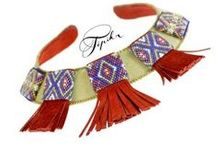 Antoń Grażyna, Tipika bead embroidery / www.tipika.pl https://www.facebook.com/TipikaHandmade #beadembroidery , #haftkoralikowy , #tipika