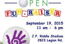 """Fascinate-U Mini-golf Fundraiser / The main event is a fun game of miniature golf, but there will also be """"Golfing with the Mascots"""", a bounce house, Rock Climbing, face painting, a dunking booth, auctions, food and more!!   We are now pre-selling tickets and tee times for those that want to secure their spot."""
