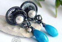 Pietrzak Jolanta, Alabama Studio, wire-wrapping / https://www.facebook.com/pages/Alabama-Studio/106233969436635?ref=hl #wire-wrapping, #alabama, #jewelry