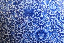 Blue and white / I love blue and white, especially crockery, and these are lovely some lovely pictures of blue and white. / by Mary Mack
