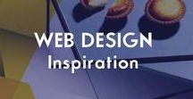 WEB DESIGN | Inspiration and Tips / Website Design Inspiration, Website Design tips, web design advice,