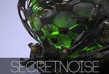 SECRETNOISE COVER ART / Various Artwork related to SECRETNOISE and his Music