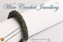 #Wire Crochet Jewellery / Cover Photo for Wire Crochet Jewellery