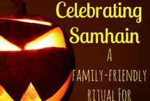 Samhain / In which we honor our departed loved ones and await the thinning of the veil between the worlds.  Rituals, crafts and suggestions for celebrating this most sacred time of the year.