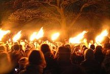 Beltane and Bonfires / In which we jump the Beltane bonfire for luck, fertility and prosperity! A celebration of all things Springtime and lusty!
