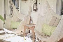 hammock/swing set