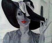 Festményeim / Saját festményeim.