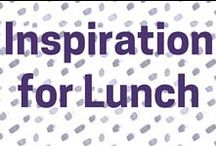 Interesting recipes for Lunch / Recipes to inspire you when in the mood for a lighter meal