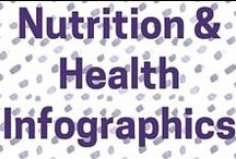 Infographics on Nutrition and Health / Learn about nutrition and healthy eating the fun way!
