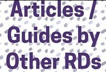 Articles or guides by other dietitians / Interesting articles written by great dietitians from around the world