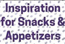 Snack & Appetizer ideas