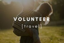 Travel | Volunteer / Everything to do about volunteering across the globe while finding yourself and adventuring the world.