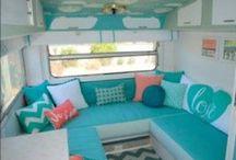 Renovation caravan