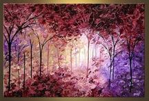 Akryl festmények