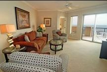 Condos by Palmetto Vacation Rentals / Vacation Rentals available from 1 bedroom to 4 bedrooms; Ocean View, Ocean Front or Walking distance to the Ocean! Visit the website for further information! http://www.palmettovacationrentals.com