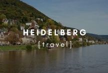 Travel | Heidelberg / Inspirational tips and photographs from around Heidelberg, Germany.