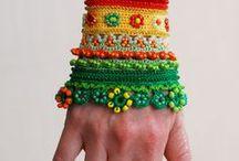 Szydełko/Crochet/Bizuteria/Jewellery