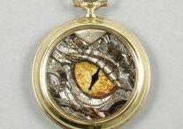 Chudzik, TRYB / #Clockwork #steampunk inspired #jewelry  METAL-ART  www.etsy.com/shop/TRYB www.tryb.com.pl