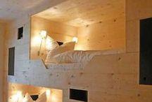 creative sleeping arrangements / bunk beds and thoughtful children's bedrooms