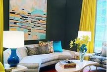 Using Color / The coolest, newest, most exciting use of color we've seen. Embrace the color!