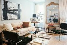 Eclectic Style / Buy things that you love and they will create a beautiful space. These photos prove that you don't need to match style or color to get amazing looks. Personality x 1,000!