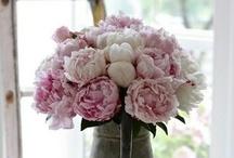 Primavera / Spring / Inspiración de decoración y manualidades con flores en Primavera.