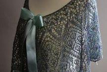 Fiber Work / Knitting, crocheting, spinning, sewing. / by Laura Humphreys