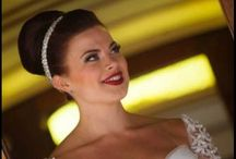 Bridal hair styles / Www.dpascualhairsalon.com  Bridal hair style wedding hair