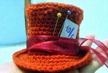 Cabezas que inspiran... / Inspiración para tejer, coser y realizar sombreros, gorros y adornos para el pelo. Tutoriales, esquemas y patrones.