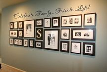 B&W picture wall