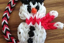 Rainbow loom bands & bracelet ^.^