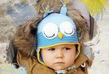 Cabecitas que inspiran... / Inspiración para tejer, coser y realizar sombreros, gorros y adornos para bebés y niños Tutoriales, esquemas y patrones.