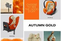 "New Colours 2015: ""Autumn Gold"" / This is our new car seat colour ""Autumn Gold"". Get inspired! Find all the new colours here: http://bit.ly/CYBEX_carseats_Pinterest  / by CYBEX"