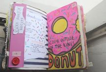 Notebook ^.^ / writing, drawing, thinking