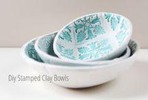 Menaje que inspira... / Inspiración para fabricar, reciclar y realizar objetos para el menaje del hogar: vasos, platos, cubiertos, fuentes, tazas... Tutoriales, esquemas y patrones.