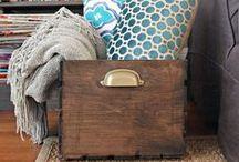 Cestas que inspiran... / Inspiración para tejer, coser y realizar cestas, cestos, cajas y cajones decorativos. Tutoriales, esquemas y patrones.