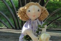 My author textile dolls / Мои авторские текстильные куклы / Handmade dolls created by Mamahobby / Авторские куклы Mamahobby, новинки и мастер-классы