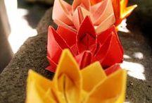 Origami que inspira... / Inspiración para realizar objetos de origami y papel plegado. Tutoriales, esquemas y patrones.