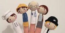 Marionetas que inspiran... / Tutoriales y patrones para tejer, coser o realizar marionetas y títeres para niños.