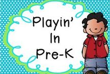 Playin' in Pre-K! / note to pinners: limit 1-3 products (paid or free) per day. Pin as many ideas as you would like! Please go back and delete your duplicate pins! Don't forget to pin ideas too!
