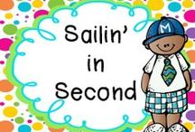 Sailin' in Second / Ideas for Second Grade. Note to pinners: pin 1-3 products (paid or free) per day, pin as many ideas as you would like.
