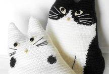 GATOS DE CROCHÊ  (CROCHET CAT) / GATOS DE CROCHÊ  (CROCHET CAT)