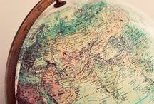 """Maps / """"There's just something hypnotic about maps."""" - Ken Jennings"""