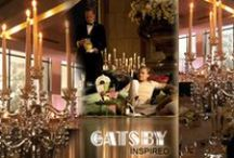 The Great Gatsby inspired decor / The Great Gatsby inspired decor by Party & Wedding Design  http://partydesign.com.au/centerpieces/  #Wedding #Candelabra #Centrepieces #Melbourne