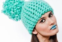 crochet berets and hats