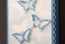 Cards - Butterflies & Bees