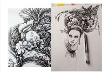 inky fingers / my pen and ink drawings, illustrations and demented doodles ...
