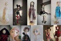 art dolls/puppets/ 3d art