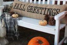 Fall Ideas / Decorating
